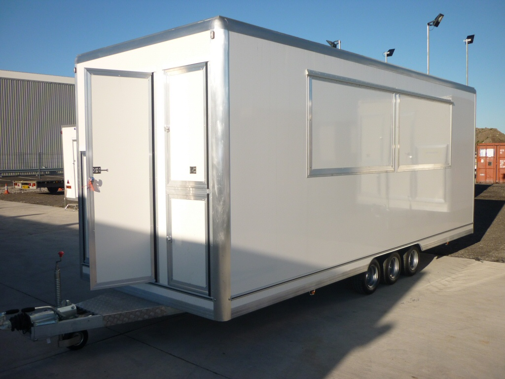 Our towable trailer kitchens make an ideal events takeaway unit and are great for emergencies.